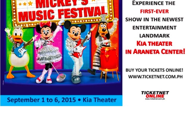 Disney Live! Now at Kia Theater