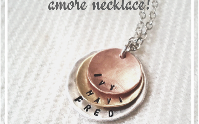 Sharing My Love for Istorya Creations: Win a Customized Amore Necklace!