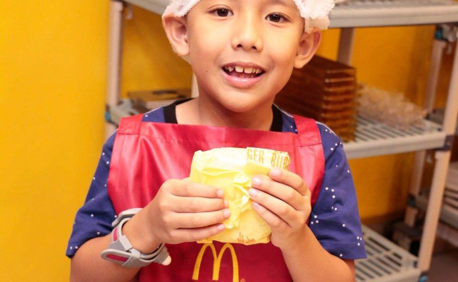 The McDonald's Burger Shop at Kidzania is Now Open!