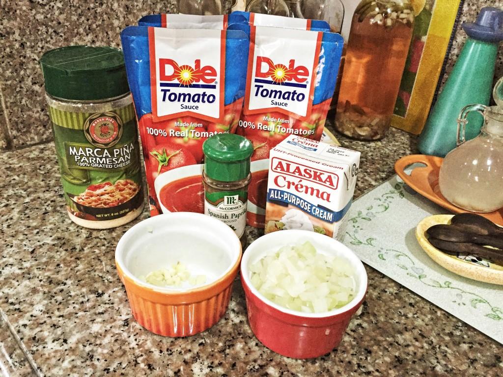 Super Easy 10 Minute Dish: Pasta with Tomato Cream Sauce ...