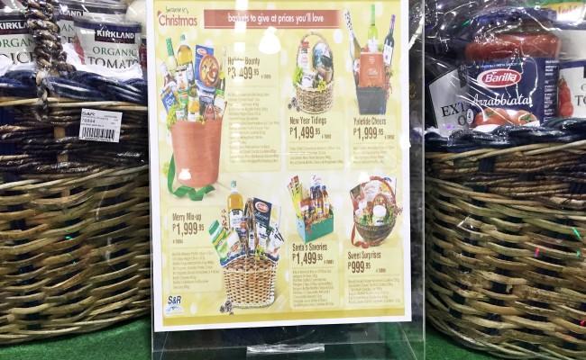 Gift Shopping Tips 1#loveSnR: Christmas Gift Baskets!