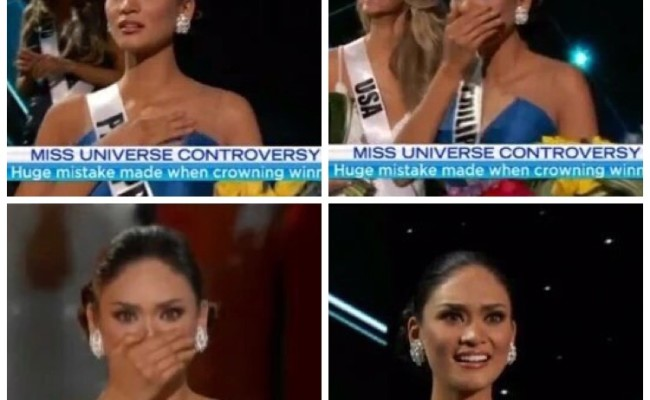 And Miss Universe 2015 is…