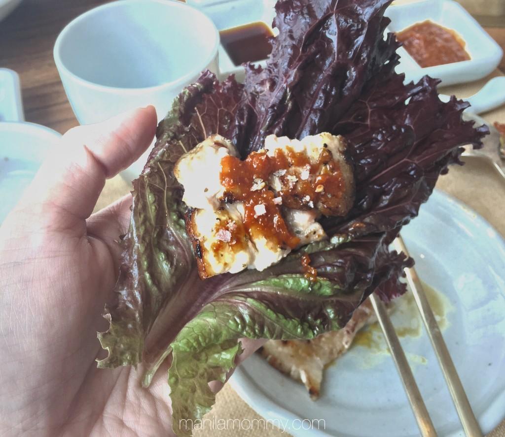 kiwa korean grill premium pork samgyeupsal