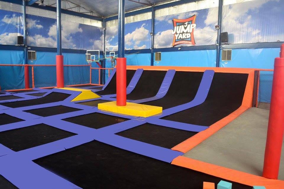 Jump Yard Indoor Trampoline Park Tiendesitas Fun Ranch Dodge Ball