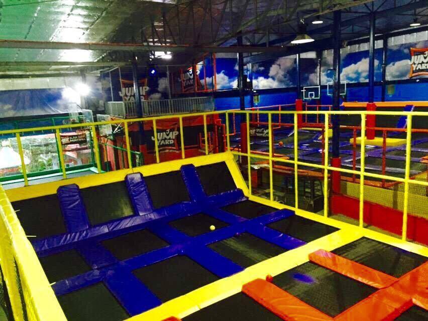 Jump Yard Indoor Trampoline Park Tiendesitas Fun Ranch DodgeBall