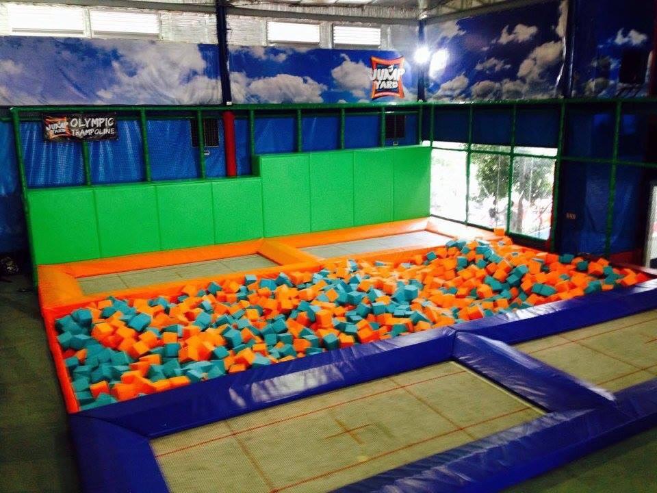 Jump Yard Indoor Trampoline Park Tiendesitas Fun Ranch Olympic Trampolines