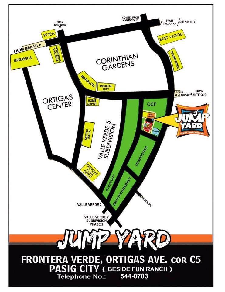 Jump Yard Map