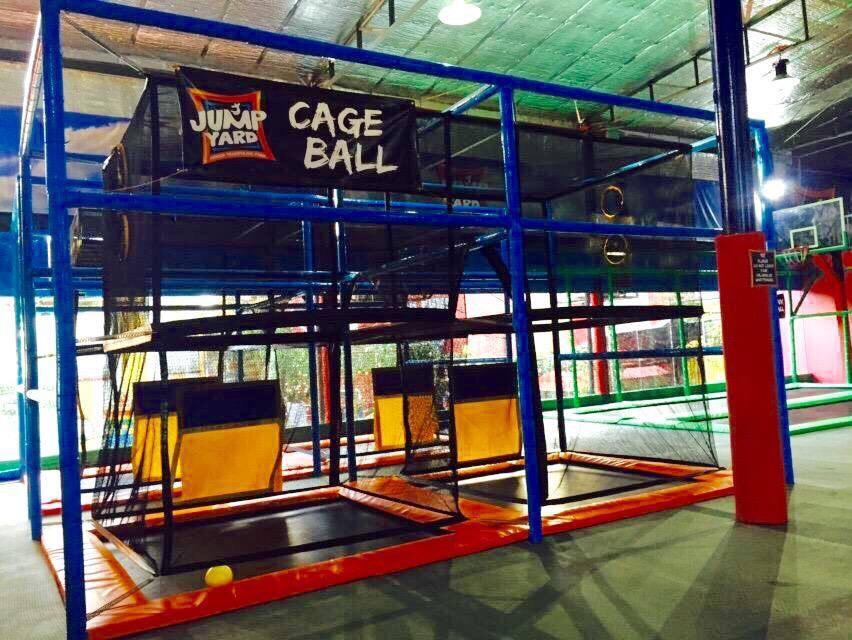 JumpYard Indoor Trampoline Park Tiendesitas Fun Ranch Cage Ball