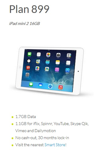 Plan 899 iPad Mini 2 Smart Bro Gadget Plans Kids