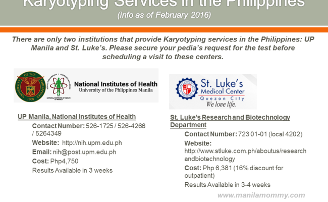 Where to Get Karyotyping Services in the Philippines