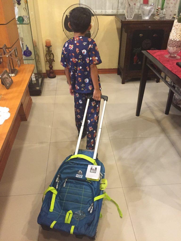 Granite Gear Trailster A School Bag For The Rainy School