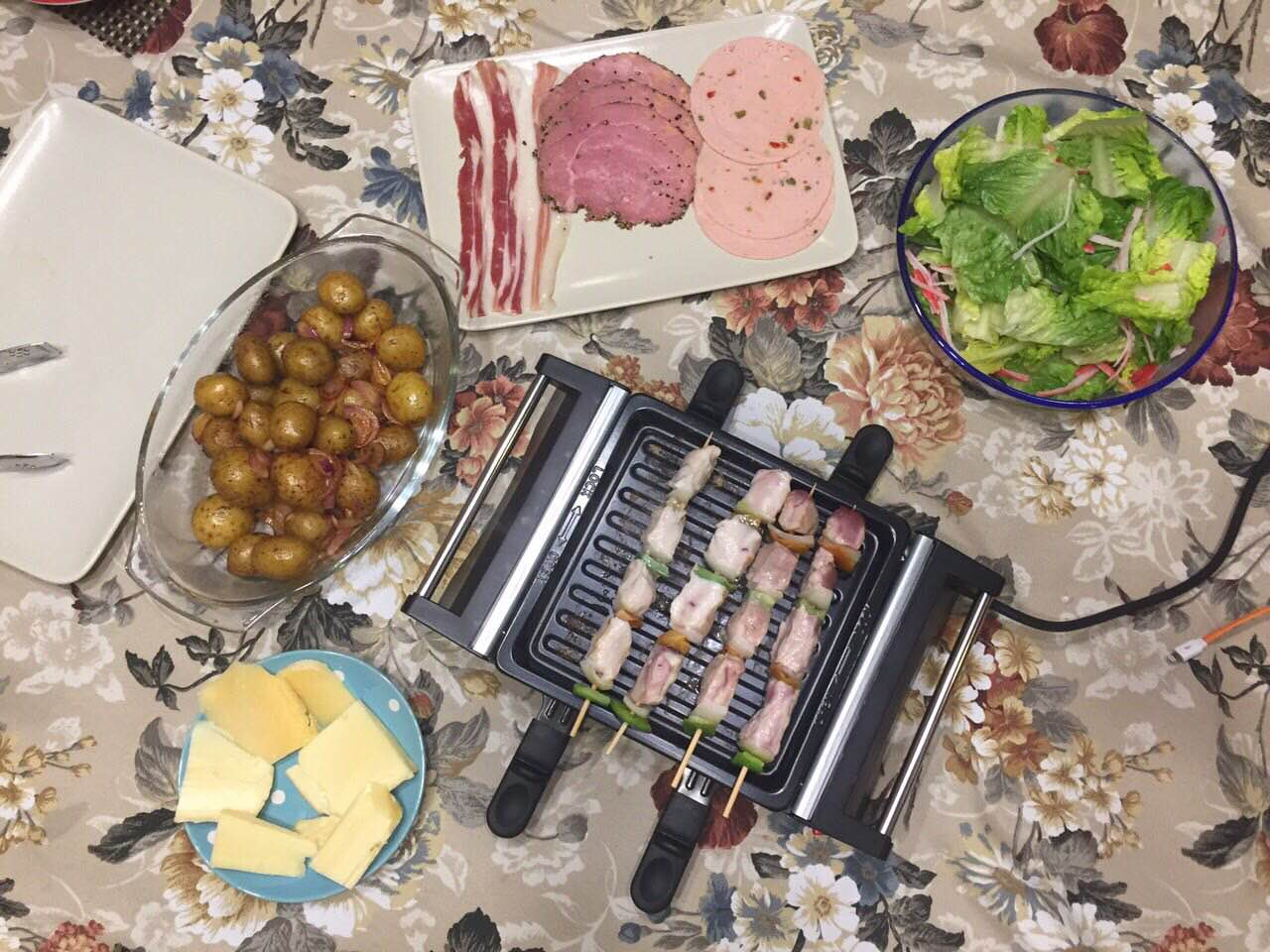 Oster Mini Raclette Grill 3
