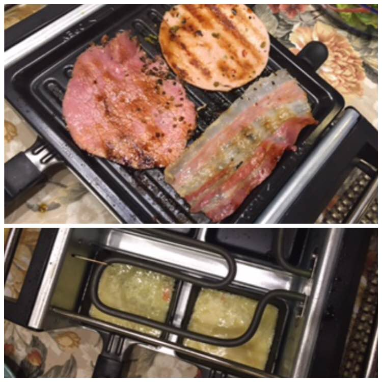 grilled deli and cheese oster raclette