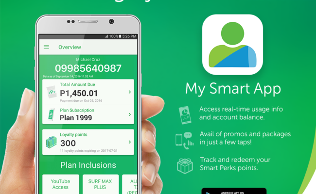 Be Smart with the #MySmart App