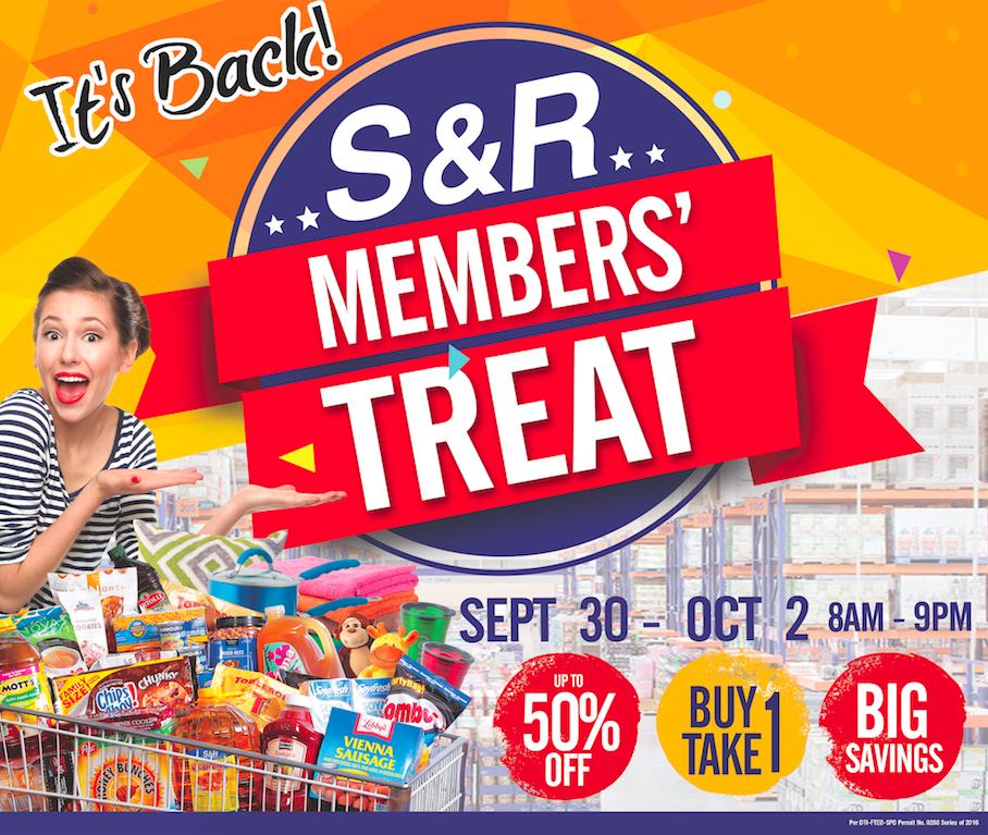 S& R Members Treat