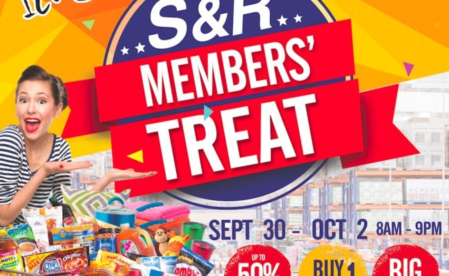 Sale Alert: S&R Members' Treat!!