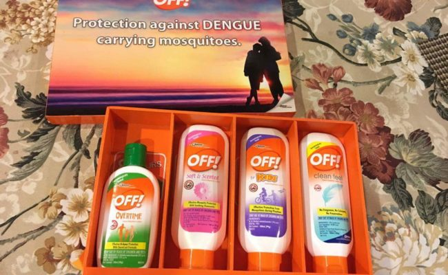 OFF! Lotion: Prevention is Worth A Pound of Cure