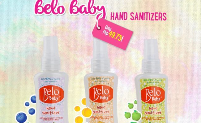 A New Must Have: Belo Baby Hand Sanitizers