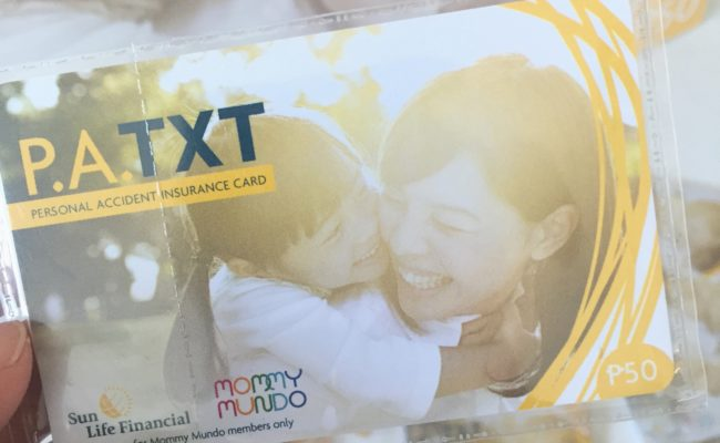 SunLife PA TXT: A Sun Life Insurance Policy for Only Php50!